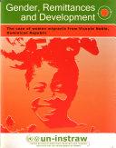 Gender  Remittances and Development