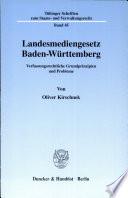 Landesmediengesetz Baden-Württemberg