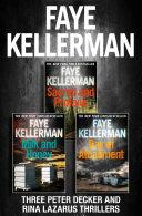 Peter Decker 3 Book Thriller Collection  Peter Decker and Rina Lazarus Crime Thrillers