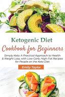 Ketogenic Diet Cookbook For Beginners