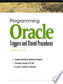 Programming Oracle Triggers and Stored Procedures Techniques Effectively Create And Manage Complex Databases With