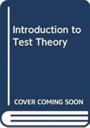 Introduction To Test Theory