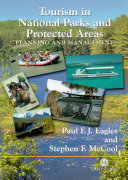 Tourism in National Parks and Protected Areas Book