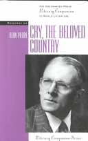 Readings on Cry  the Beloved Country