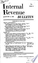Internal Revenue Bulletin