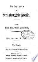 Geschichte der Religion Jesu Christi