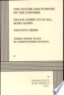 Three Short Plays By Christopher Durang