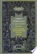 Urban Patronage in Early Modern England
