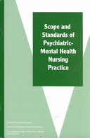 Scope and Standards of Psychiatric mental Health Nursing Practice