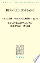 illustration De la méthode mathématique et correspondance