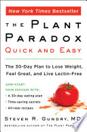 The Plant Paradox Quick and Easy Book PDF