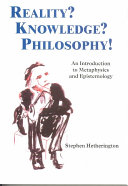 Reality  Knowledge  Philosophy