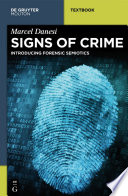 Signs of Crime Book PDF