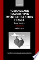 Romance and Readership in Twentieth-Century France