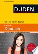 Wissen     ben   Testen  Deutsch 6  Klasse