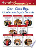 One Click Buy October Harlequin Presents