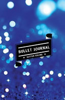 Blue Glitter Bullet Journal