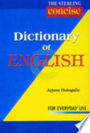The Sterling Dictionary Of English For Everyday Use