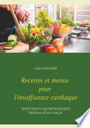 illustration du livre Recettes et menus pour l'insuffisance cardiaque