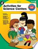 Activities For Science Centers Grade K