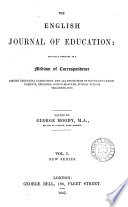 The English journal of education  ed  by G  Moody