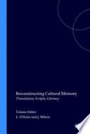 Reconstructing Cultural Memory