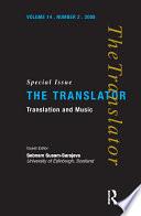Translation and Music