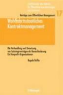 Wohlfahrtsstaatliches Kontraktmanagement