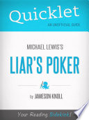 Quicklet on Liar s Poker by Michael Lewis