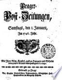 Prager-Post-Zeitungen