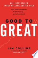 Good to Great by James Charles Collins