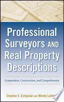 Professional Surveyors And Real Property Descriptions