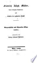 Friedrich Joseph Müller, Kaiserl.-Königlicher Kammerdiener und Künstler der ergötzenden Physik