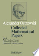 Collected mathematical papers  4  1984