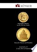 K  nker Auktion 277   Ausgew  hlte M  nzen aus der Welt der Antike   Russische M  nzen und Medaillen