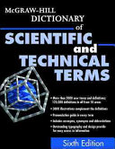 McGraw Hill Dictionary of Scientific and Technical Terms