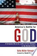 America s Battle for God