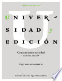 Universidad y edici  n