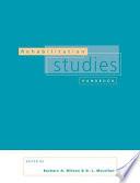 Rehabilitation Studies Handbook