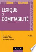 Lexique de comptabilité - 7e édition