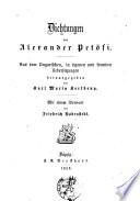 Dichtungen von Alexander Pet  fi