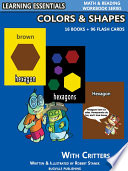 Colors   Shapes Storybooks  16 Books   96 Flash Cards with Critters