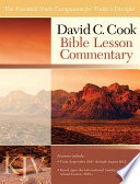 David C  Cook KJV Bible Lesson Commentary 2011 12