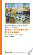 Orient   Orientalistik   Orientalismus