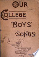Our College Boys  Songs