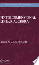 Finite Dimensional Linear Algebra