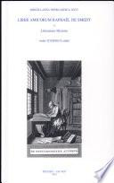 Liber amicorum Raphaël de Smedt: Litterarum historia