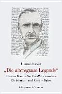 """""""Die altersgraue Legende"""""""