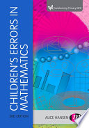 Children's Errors in Mathematics PDF