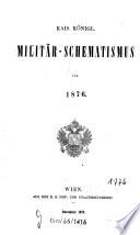Kais. königl. Militär-Schematismus0